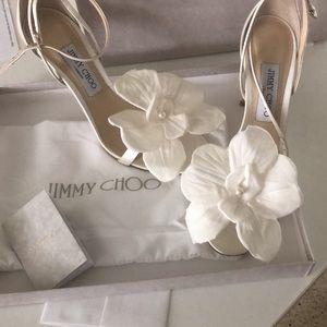 Jimmy Choo Flower Heels